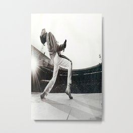 Freddie Mercur-y Poster, Freddie#Mercury Music Poster Wall Art Home Decor Metal Print