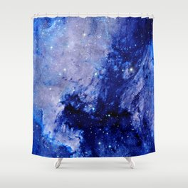 Space Nebula Shower Curtain