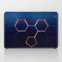 fullmetal alchemist iPad Cases featuring THE ALCHEMIST by James Alex Davies
