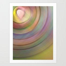 color radius Art Print