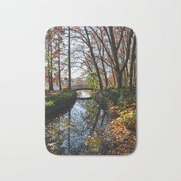 Beautiful autumn in Lyon Bath Mat