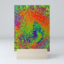 Scaly Rainbow Growth Mini Art Print