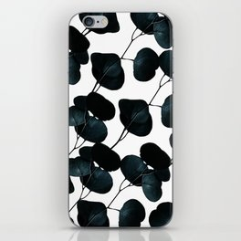 Dark Leaves #society6 #artforsale iPhone Skin