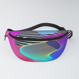 Astral Worms Fanny Pack