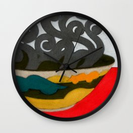 Arabian Earth Wall Clock