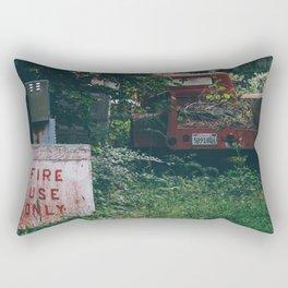 Fire Use Only Rectangular Pillow