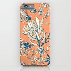 Orange Cradle Flora Slim Case iPhone 6s