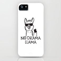 No Drama Llama iPhone SE Slim Case