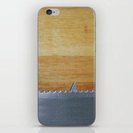 Shark infested breadboard iPhone Skin
