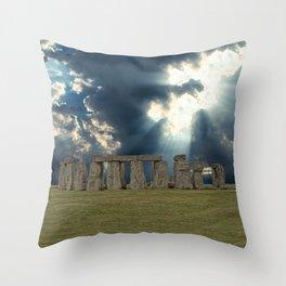 Stonehenge IV Throw Pillow