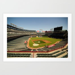 Texas Rangers Ballpark in Arlington Art Print