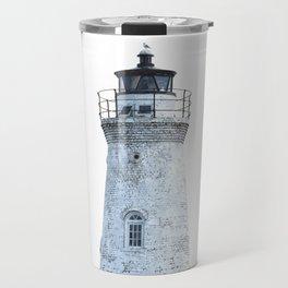 Lighthouse Illustration Travel Mug