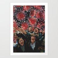 lsd Art Prints featuring LSD by ashton thom
