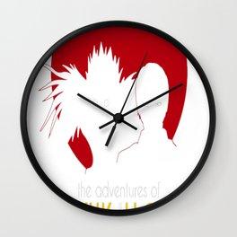 The Adventures of Ryuk _ Light Wall Clock
