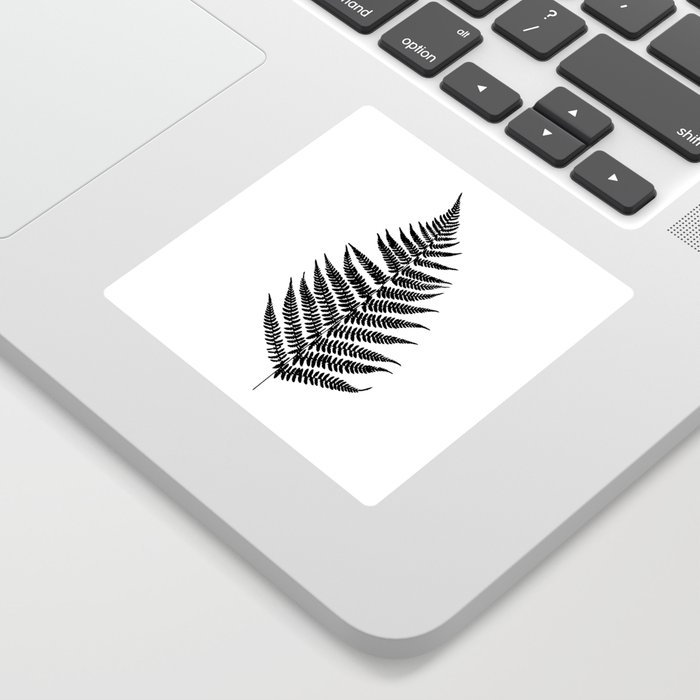 Fern silhouette Sticker