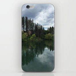 Montana Morning at the Riverbend iPhone Skin
