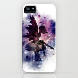 Galaxy fairy iPhone Case