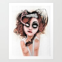 rocky horror Art Prints featuring Untitled III by Rouble Rust