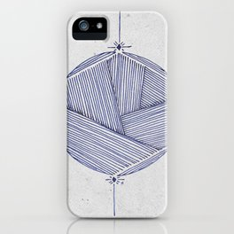 Hexacircle 2 iPhone Case
