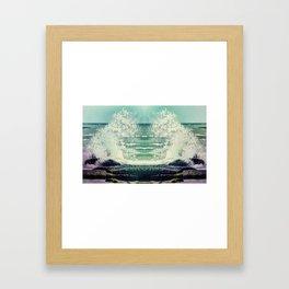 Poseidon's Fury Framed Art Print