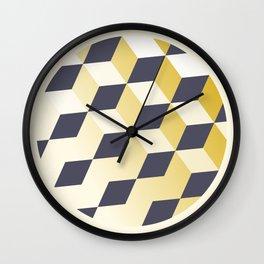 Geometric Circle Study Series No. 1 Wall Clock