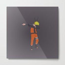 Naruto Dubstyle Metal Print