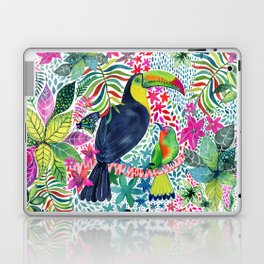 Toucan in the Rainforest Laptop & iPad Skin