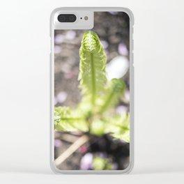 Unfurl Clear iPhone Case