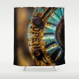 Open Shower Curtain