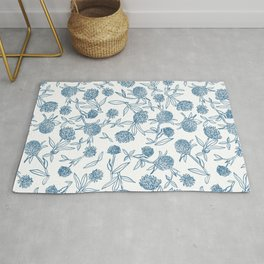 Clover pattern Rug