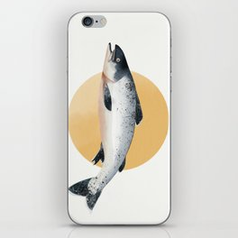 Malibu Salmon iPhone Skin