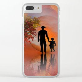 farewell -2- Clear iPhone Case