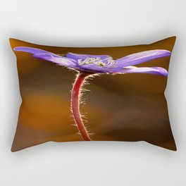 Solo Purple Anemone Forest #decor #society6 Rectangular Pillow