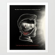Head To Heart Art Print