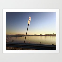 Pollution Permitted Art Print