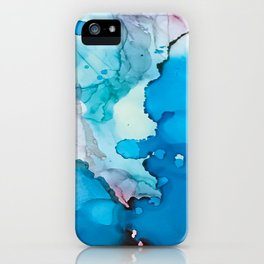 Drops of Blue iPhone Case