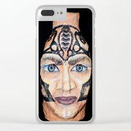 Scandinavian Viking Clear iPhone Case
