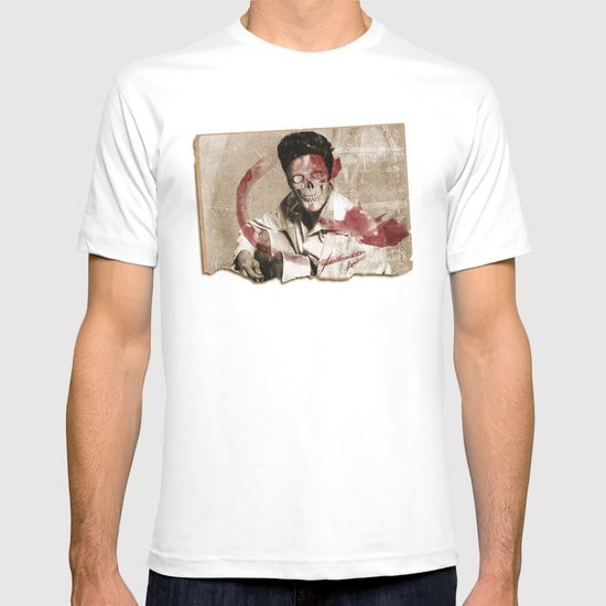 he's dead get over it T-shirt