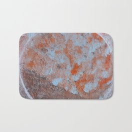 Circle and textures Bath Mat