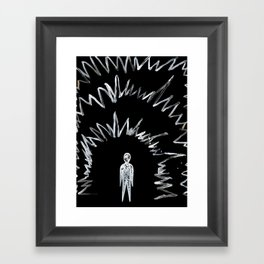 Nyctophilia Framed Art Print