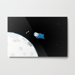 Spacedoggy Metal Print