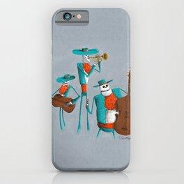 Mariachi Muerto iPhone Case