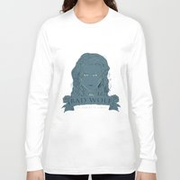 bad wolf Long Sleeve T-shirts featuring Bad Wolf by AmdyDesign