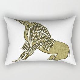 Egyptian demon - Bone Eater Rectangular Pillow