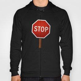 Stop sign Hoody