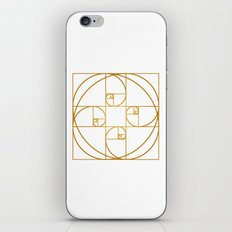 Golden Sprout iPhone Skin