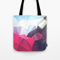 playstation Tote Bags featuring Polygonal by eARTh