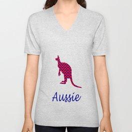 Aussie  Unisex V-Neck