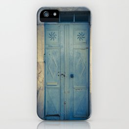Blue Door II iPhone Case