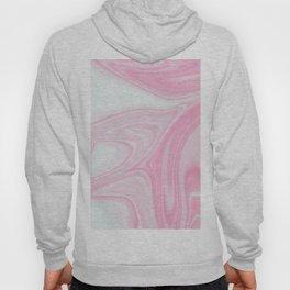 Pink & White Liquid Marble Hoody